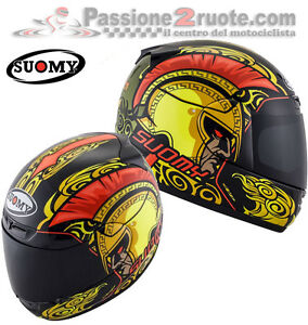 Helmet-Suomy-Apex-Gladiator-casque-moto-integral-helm-size-M