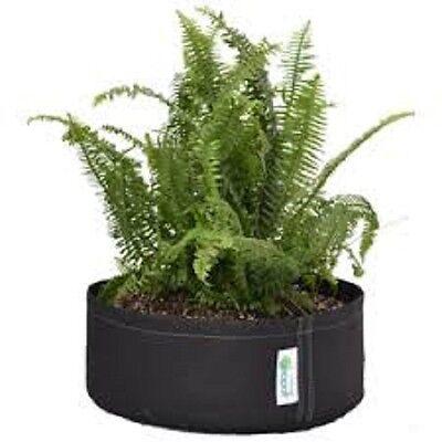 environ 170.34 L 45 GAL Squat Noir Geopot JARDINIERE Tissu Pots Smart pot Livraison gratuite