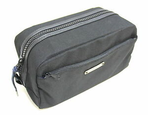 3367dad30b GIVENCHY PARFUMS MENS BLACK TOILETRY BAG WASH TRAVEL BEAUTY WEEKEND ...