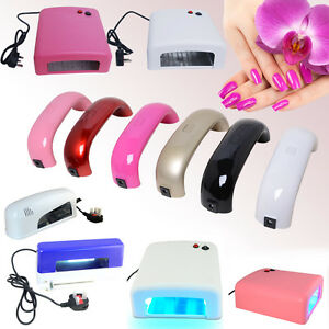 New-9W-36W-UV-LED-Gel-Curing-Nail-Dryer-Art-Timer-Beauty-Salon-Polish-Lamp-Gift