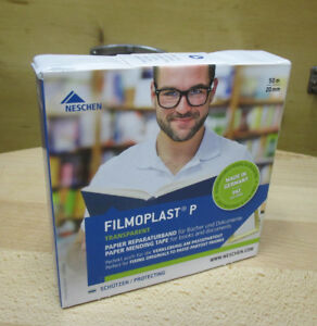50-m-x-2-cm-0-25-m-REPARATURBAND-FILMOPLAST-P-VON-NESCHEN-ARCHIVALIEN