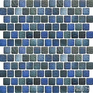 Details about Fujiwa Porcelain Swimming Pool Waterline Tile -PAD-175 JADE  BLUE 1\