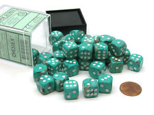 Chessex Marble 12mm Set Of 36 D6 Oxi Copper With White Dice Mtg Warhammer For Sale Online Ebay