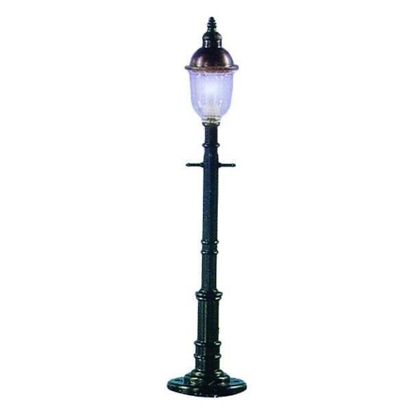 3 by Model Power 6076 Square//Gray O Old Time Gas Lamp Post