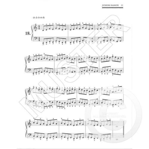 Für Klavier 518-9780739012901 Ed. Small//Manus Junior Hanon For The Piano
