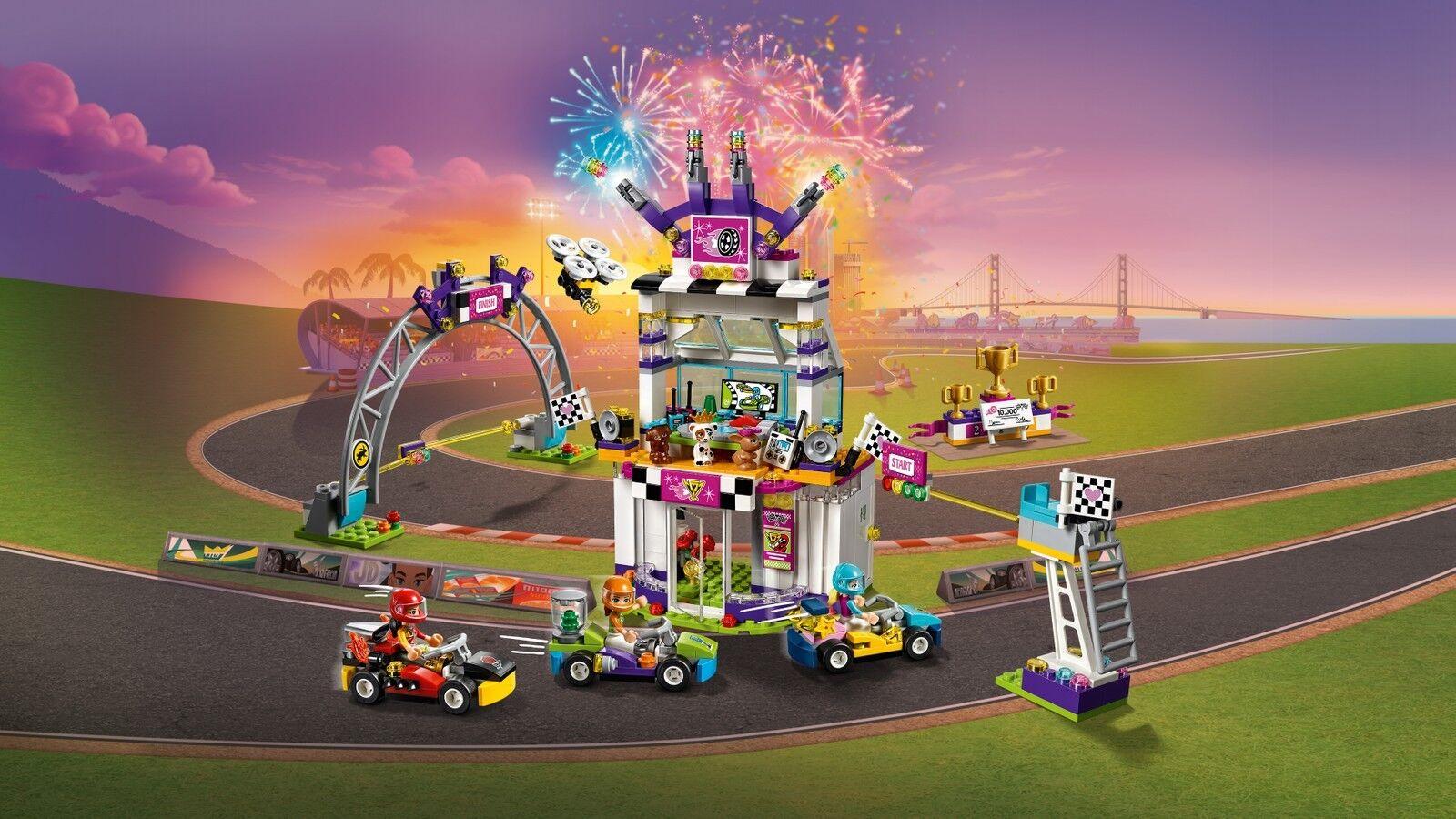 LEGO ® ® ® Friends 41352 La grande course Nouveau neuf dans sa boîte _ the Big Race Day NEW En parfait état, dans sa boîte scellée Boîte d'origine jamais ouverte 2a44da