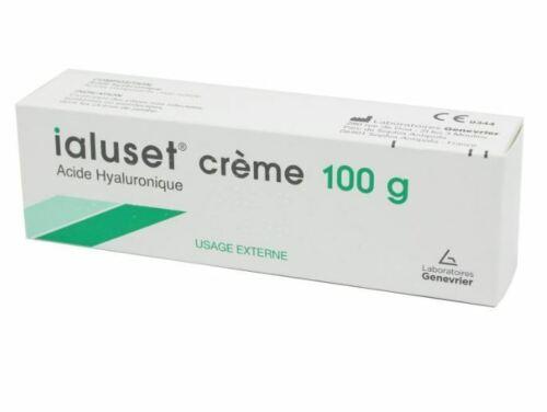 Ialuset Acide Hyaluronique Crème par les laboratoires Genévrier 100 g