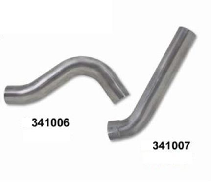 "DIAMOND EYE 341007  1 pipe Aluminized 5/"" Tailpipe for 01-07 GM 6.6L Duramax"