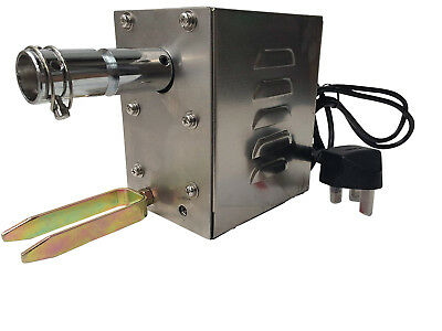 BBQ HOG ROAST SPIT ROTISSERIE COUNTER BALANCE STAINLESS STEEL