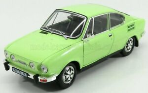 ABREX 1/18 SKODA | 110R COUPE 1980 | LIME GREEN