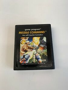 Missile Command (Atari 2600, 1981) Missle - Cart Only Great Shape!