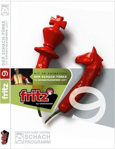 1 von 1 - Fritz 9 Schach mit dem Türken einen mechanischen Schach-Spielautomat PC