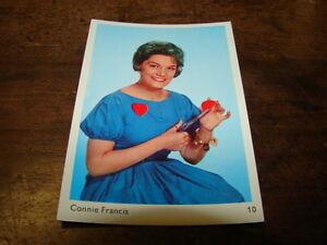 Connie-Francis-Mini-Tarjeta-Colores-Libro-Tapa-Dura-Ref-10