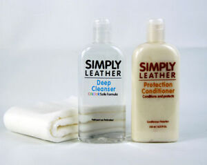 Simply Leather Protection Conditioner Amp Cleaner For Car