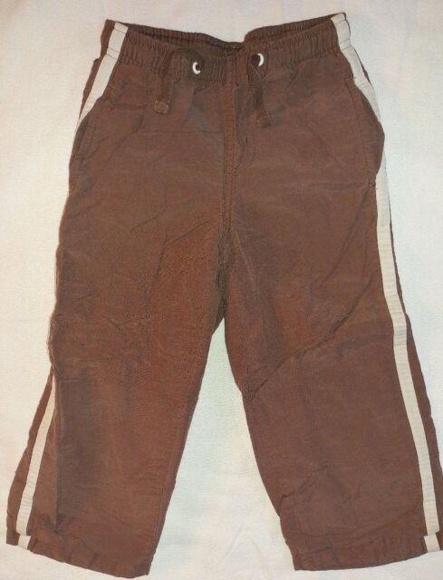 Gymboree Knit Lined Brown Athletic Pants Elastic Waist Size 3