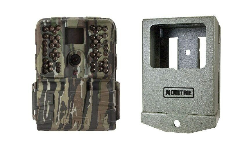 Moultrie S-50i  20MP FHD Video No Glow Scouting Game Trail Camera ++ Security Box  big discount prices