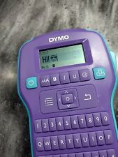 Dymo Colorpop Color Label Maker Withtape Handheld Purple Great Condition Working
