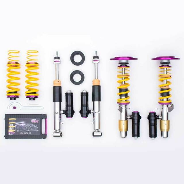 KW Suspensión roscada coilovers Clubsport 2-way incl. Copelas 35220831 para BMW