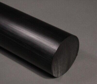 "Teflon 22mm 7//8/"" Diameter x 12/"" Length Ptfe Carbon Filled Plastic Rod Bar"