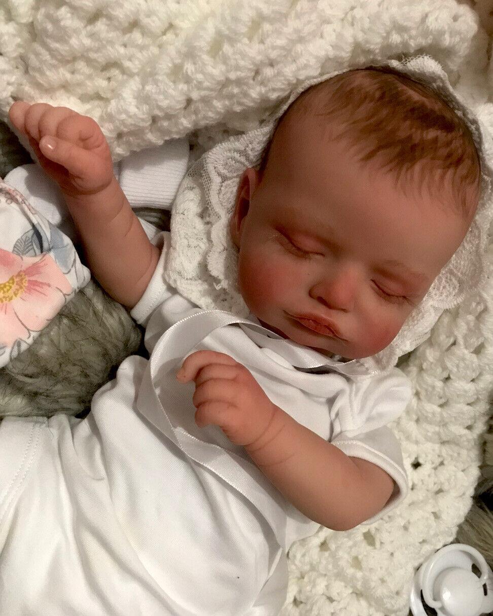 Beautiful SLEEPING Reborn baby doll..Ella