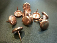 Copper 1/2 Length Nails Upholstery Tacks Decorative Nail 100-200-500-1000-u.s.a