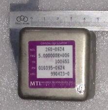 MTI 260 261 5mhz SC-CUT ultra high stability high reliability OCXO oscillator
