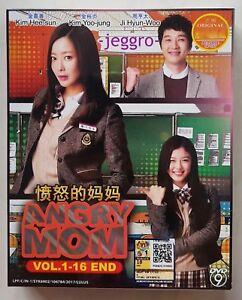 Korean-Drama-DVD-Angry-Mom-2015-GOOD-ENG-SUB-All-Region-FREE-SHIPPING