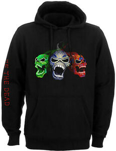 IRON MAIDEN Nights Of The Dead Legacy Of The Beast HOODIE SWEATSHIRT OFFICIAL