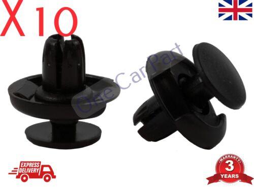 10x HONDA CIVIC CR-V ACCORD WHEEL INNER ARCH LINING BUMPER SPLASHGUARD TRIM CLIP
