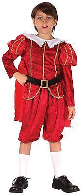 Tudor Prince, Media EtÀ 6-8, Per Bambini Costume-mostra Il Titolo Originale Prezzo Di Vendita