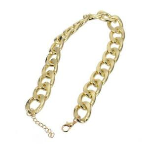 Dog Cat Pet Choke Chain Collar Choker Collar Punk Chain Gold-plated Top R6X8