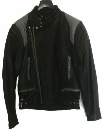 Vintage Schott Leather Motorcycle Jacket - Medium