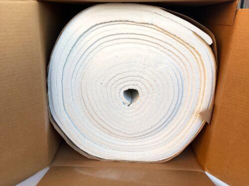 "Kaowool 1//2/""x4/""x20/"" Thermal Ceramics Fiber Insulation Blanket 8# Muffler Stove"