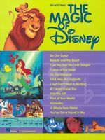 The Magic Of Disney Sheet Music Big Note Songbook 000310319