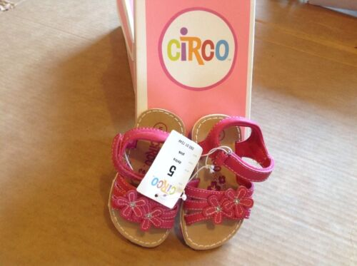 Also Have Size 9, Kids Circo pink girls sandal size 5