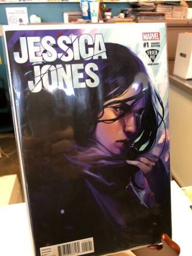 2016 Jessica Jones #1 Fried Pie Variant Stephanie Hans Cover Marvel Comics