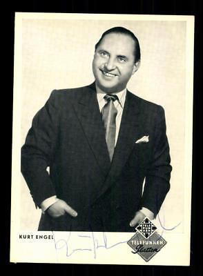 Hart Arbeitend Kurt Engel Autogrammkarte Original Signiert ## Bc 134545 Hell In Farbe Autogramme & Autographen