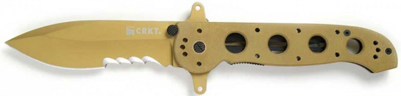 SERE CRKT M21 Taktisches Einhandmesser Einhandmesser Einhandmesser  AutoLAWKS Veff-Serration Wellenschliff 96159a
