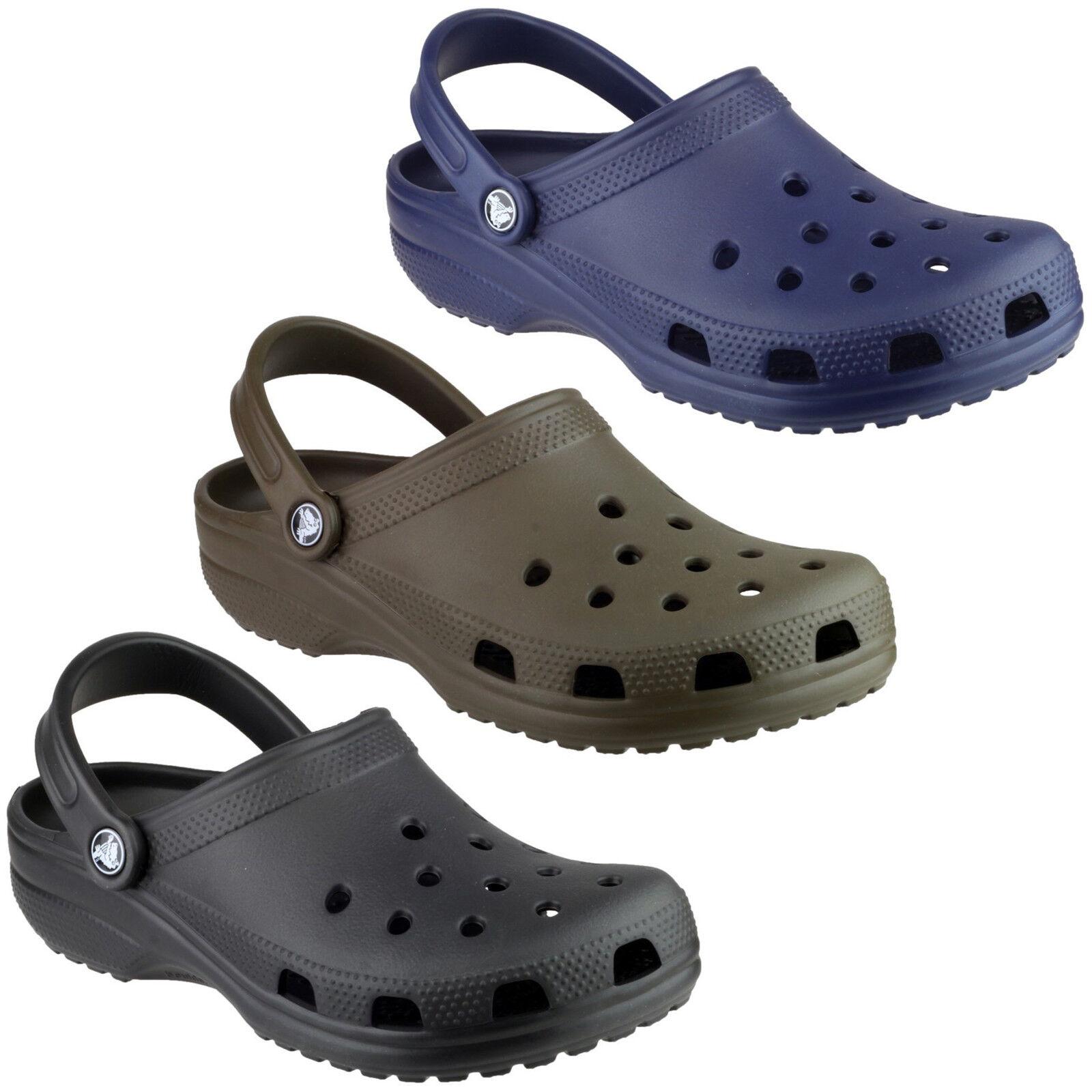 Crocs Unisex Classico Zoccoli Croslite Leggero Cinghia men women Sandali shoes