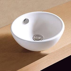 Details zu Gäste WC Kleines Waschbecken Waschtisch Handwaschbecken  Aufsatzwaschbecken 32cm