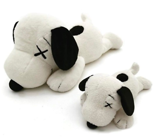 KAWS x PEANUTS UNIQLO SNOOPY SNOOPY SNOOPY PLUSH TOY SET OF 2 - SMALL & LARGE - FREE SHIPPING  02d049