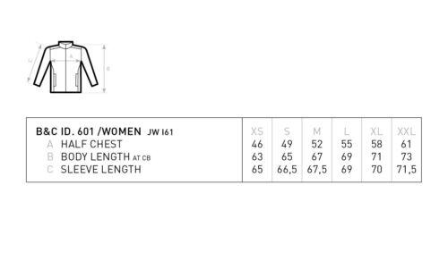 B/&C Collection ID.601 Women/'s Jacket JUI61 Ladies Fleece Warm Outdoor Winter