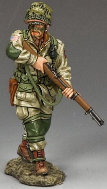 KING & COUNTRY D DAY DD216 U.S 82ND AIRBORNE CAUTIOUSLY ADVANCING MIB