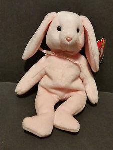 1996 Ty Beanie Hoppity the Rabbit PVC Pellets W/Tags