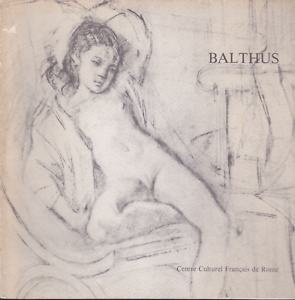 Balthus-dessins-d-039-Italie-textes-Federico-Fellini-Leymarie-Carte-Segrete
