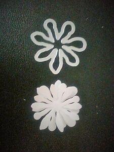 Sizzix-Thinlits-Die-Cutter-amp-Embosser-FLOWER-FLOWERS-fits-Big-Shot-Cuttlebug