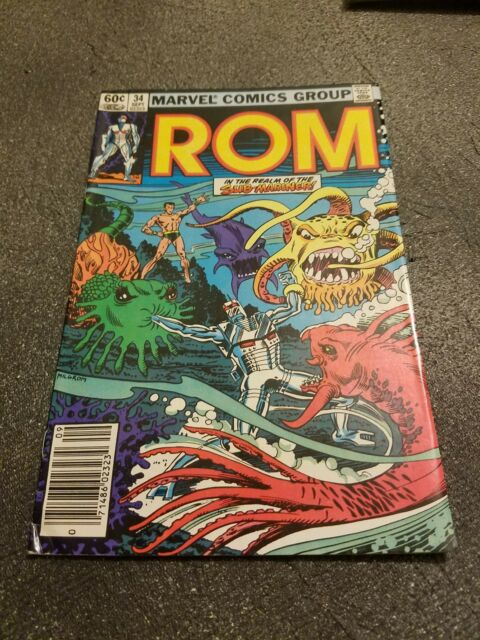 ROM #34 (Sep 1982, Marvel) Classic Series! Free Ship at $36+