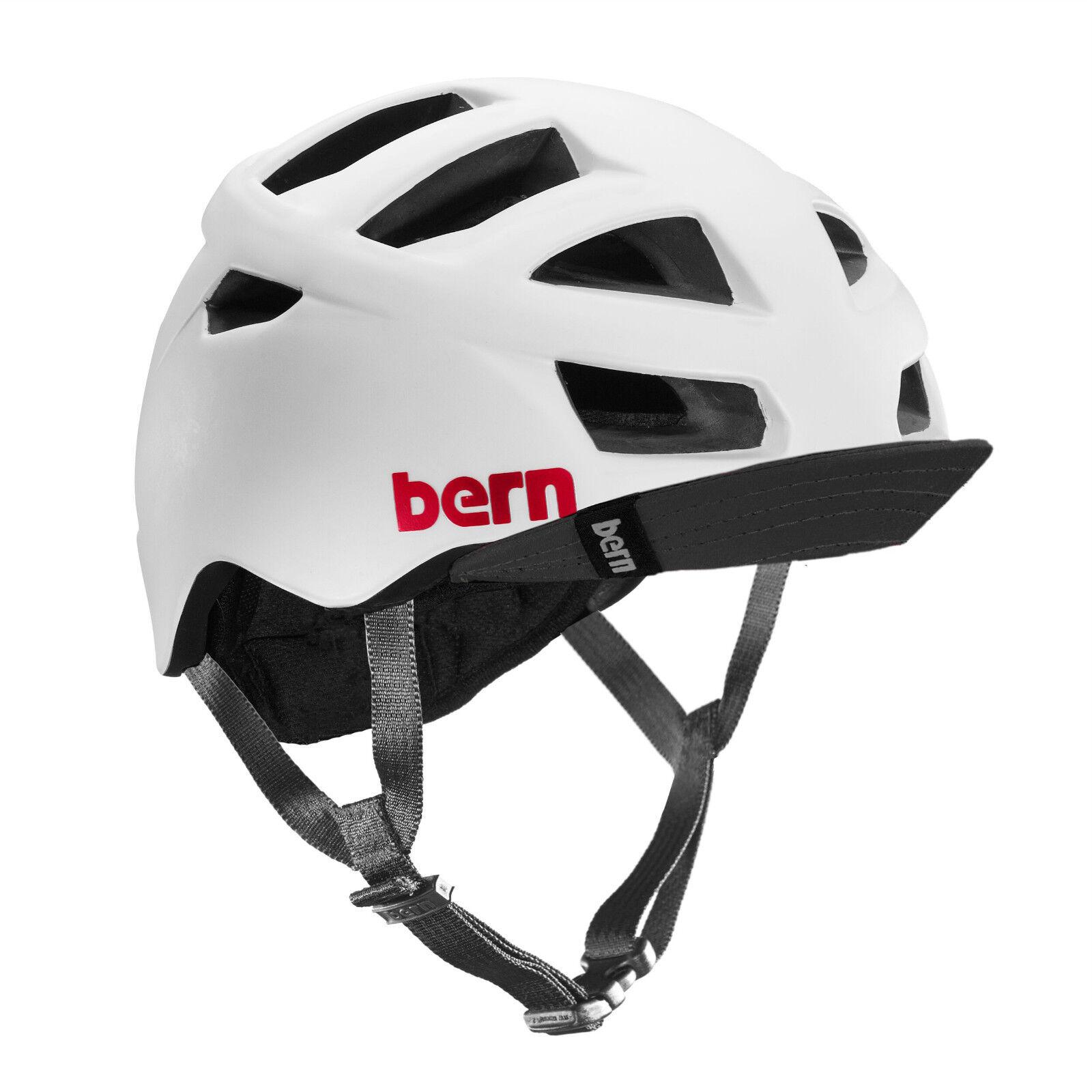 Bern Allston Zipmold Bicicletta Boa Casco Bianco Satinato SM LXL XXLXXXL