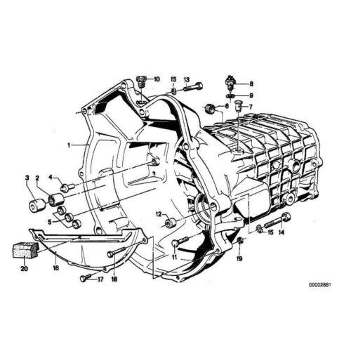 2x ORIGINALE BMW 23117527440-chiusura a vite m24x1,5 1er 3er 5er 7er 8er...
