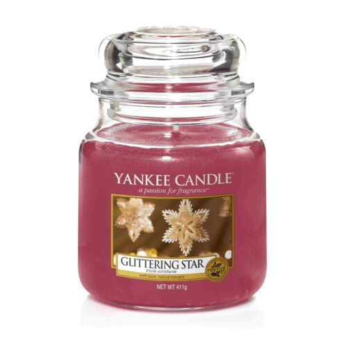 Yankee Candle medianas vela glittering Star 411 g fragancia Vela